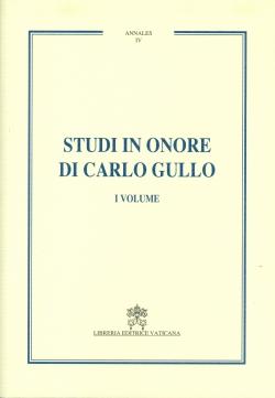 STUDI IN ONORE DI CARLO GULLO