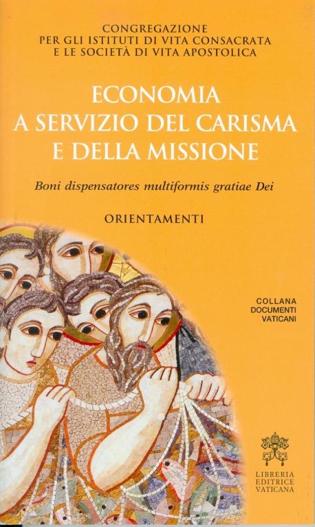 Economia a servizio della missione e del carisma