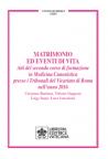 MATRIMONIO ED EVENTI DI VITA