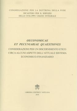 OECONOMICAE ET PECUNIARIAE QUAESTIONES (ITALIANO)