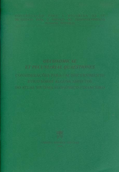 OECONOMICAE ET PECUNIARIAE QUAESTIONES (PORTUGUES)