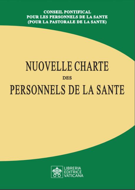 NOUVELLE CHARTE DES PERSONNELS DE LA SANTE