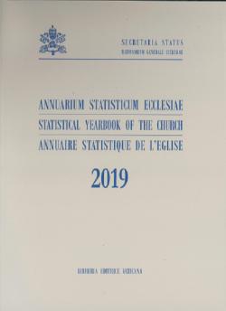 ANNUARIUM STATISTICUM ECCLESIAE 2019